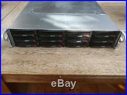 24TB (12x2TB) SUPERMICRO SUPERCHASSIS CSE-826 JBOD SAS/SCSI DATA STORAGE ARRAY
