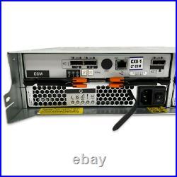 2U 14TB SAS 6Gb/s 24x 600GB Drive Disk Expander Storage JBOD SAN Shelf IBM/LSI