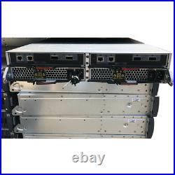 2U NetApp Shelf DS2246 JBOD Storage 2x Controller 2x PSU 24x Caddies with Ears