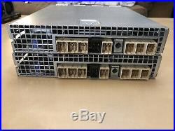 2x Dell N98MP E02M001 SAS Raid Controller Storage Array PowerVault MD3200 MD3220
