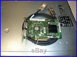 6TB Dell Powervault MD3000 SAN Storage Disk Array Dual controller. SAS & SATA