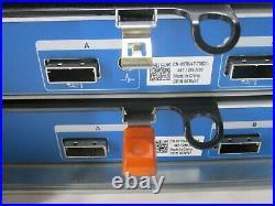 DELL COMPELLENT SC200 E04J001 3.5 STORAGE ARRAY With 2x 0TW47 CONTROLLERS T8-E5