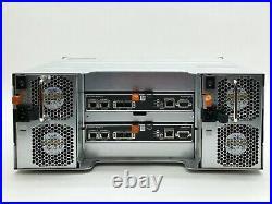 DELL EQUALLOGIC PS6210 ISCSI 92TB 23x 4TB SAS SAN STORAGE ARRAY+2CONTROL 15