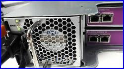 DELL EqualLogic PS4100 Model E03J Storage Array with 2 700W PS's & 2 Cntrl Mduls