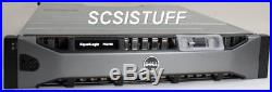 DELL EqualLogic PS6100S 2U iSCSI storage array 24x 200GB SAS SSD drives