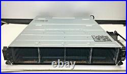 DELL POWERVAULT MD1200 0U648K 0NFCG1 03DJRJ 2x600W PSU STORAGE ARRAY With RAIL KIT