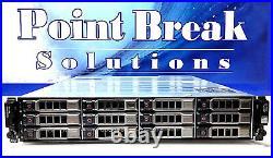DELL POWERVAULT MD1200 12x 6TB SAS 72TB 2x CTRLS 3YR WARRANTY