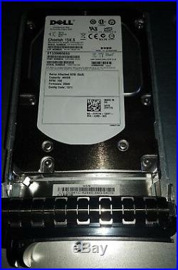 DELL PowerVault MD1000 STORAGE Array with(15x) 300GB 15k SAS HDD Dual Controller
