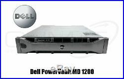 DELL PowerVault MD1200 Storage Array 2x SAS Controller 2x 600W PWR