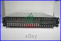 DELL PowerVault MD3220i SAN Storage Array 24x900GB SAS 10K 2x iSCSI 0770D8 2PSU