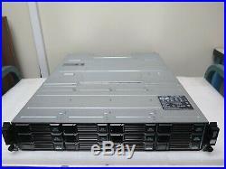 Dell Compellent SC200 12-Bay 3.5 2U SAS Storage Disk Array 12 x 2TB SAS HDD