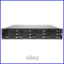 Dell Compellent SC200 Storage Array, 12x 2TB T7F78 2x 700W 2x Controllers 0TW47