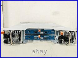 Dell Compellent SC220 2.5 24-Bay Storage Array +2SAS 6Gbps I/O & 16HDD Trays