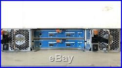 Dell Compellent SC220 2.5 24-Bay Storage Array SAS 6Gbps I/O & 24HDD Caddies