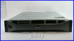 Dell Compellent SC220 24 Bay Storage Array With SC2 Controllers and 700W PSUs