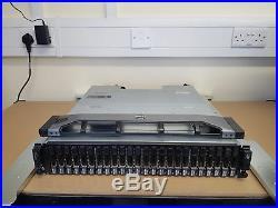 Dell Compellent SC220 2U 7.2TB (24x 300GB 15K) JBOD SAS 2.5'' SFF Storage Array