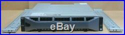 Dell Compellent SC4020F Storage Array Dual 8Gb/s FC Controllers 8G-FC-4 42.48TB