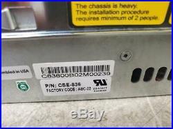 Dell Compellent Supermicro X8DTH CT-040 Intel Xeon E5540 2.53Ghz Storage Array