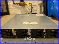 Dell EMC VNXe3100 12-Bay Storage Array 2x iSCSI Controller 2xPSU -includes trays