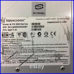 Dell EqualLogic 94417-01 PS 3000 16-Bay SAS Storage Array Chassis 2xPS 2xCTRL