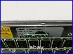 Dell EqualLogic PS4000 iSCSI 16-Bay Storage Array with 2Control Module 8 E03M003
