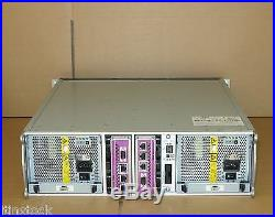 Dell EqualLogic PS4000X Virtualized iSCSI SAN Storage Array 2 Controllers 7.2Tb