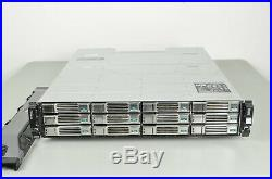 Dell / EqualLogic PS4100 12-Bay Storage Array with 12x 1TB Hard Drives & 2x GPRN4