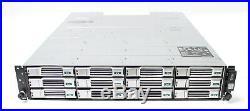 Dell EqualLogic PS4100 24TB 12x 2TB SAS HDD iSCSI Storage SAN Array