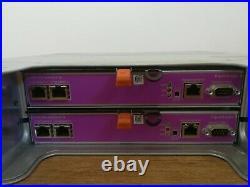 Dell EqualLogic PS4100X 2U iSCSI SAN Storage Array Dual Type 12 Controller 2xPSU