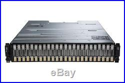 Dell EqualLogic PS4100X with 24 x 600GB 10k 2.5 SAS HDD iSCSI Storage Array