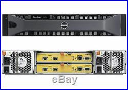 Dell EqualLogic PS4110X 2U 24 x 600GB 10k SAS HDD iSCSI SAN Storage Array