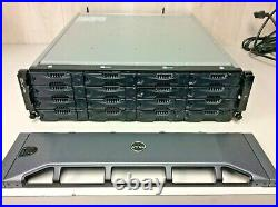 Dell EqualLogic PS6000 E01J iSCSI SAN SAS Storage Array 16-Bay LFF with Caddies