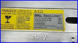 Dell EqualLogic PS6000 PS6000XV iSCSI SAN SAS Storage Array 16-Bay LFF+Caddies