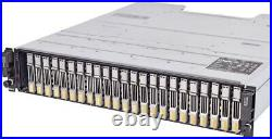 Dell EqualLogic PS6100 24-Bay Storage Disk Array with2x E09M HRT01 Control Module