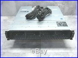 Dell EqualLogic PS6100 3.5 24 Bay ISCSI SAN Storage Array with 2x Controllers