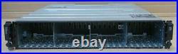 Dell EqualLogic PS6100XV 2U iSCSI SAN Storage Array 2x Type 11 Controller 2x PSU