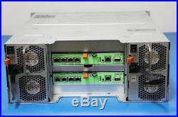 Dell EqualLogic PS6100XV Storage SAS HARD DISK ARRAY HDD SAN 2x Type11 70-0400