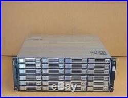 Dell EqualLogic PS6100e Virtualized iSCSI SAN Storage Array 24 x 3TB SAS = 72TB