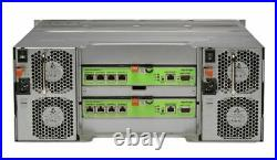 Dell EqualLogic PS6100e Virtualized iSCSI SAN Storage Array 24 x 4TB = 96TB HDD