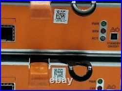 Dell EqualLogic PS6110 24-Bay 2.5 3TB (10x300GB) Storage Array +2x 594R6 Module