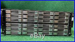 Dell EqualLogic PS6110E Storage Array with2xControl Module 14 All Caddies No HDDs