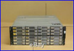 Dell EqualLogic PS6110E Virtualized 10GbE iSCSI SAN Storage Array + 24x 2TB HDD