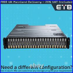 Dell EqualLogic PS6110X 17 x 600GB 10k SAS + 7 x 400GB 12G SAS SSD