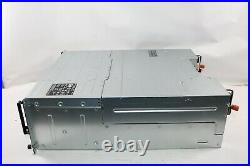 Dell EqualLogic PS6110XV 24 Bay 2x 1080W PSU 10GbE iSCSI SAN Storage Disk Array