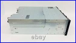 Dell EqualLogic PS6110XV 24 Bay 3.5 ISCSI SAN Storage Array 2x Type 14 No Drive