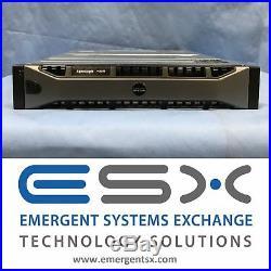 Dell EqualLogic PS6110XV Storage Array 24x 300GB 15k, 2x 10G Controllers 7.2TB