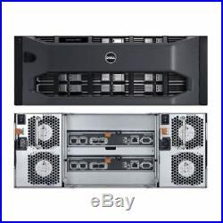 Dell EqualLogic PS6210E 24x 3TB NL-SAS 72TB iSCSI SAN Storage Array 10GBe/10GB