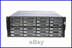 Dell EqualLogic PS6210E 24x 4TB = 96TB iSCSI SAN Storage Array 10GBe/10GB