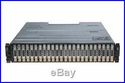 Dell EqualLogic PS6210XV 10Gb iSCSI SAN Storage Array 24x 600GB 15K 2.5 SAS HDD