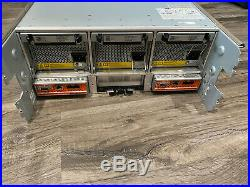 Dell EqualLogic PS6510 SAN iSCSI Storage Array 2x 0G9J5 Control Module 10